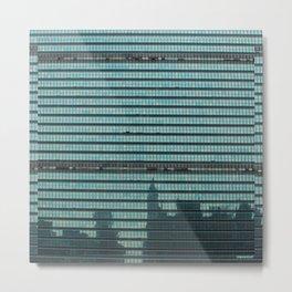 NYC Reflections Metal Print