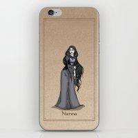 valar morghulis iPhone & iPod Skins featuring Nienna by wolfanita