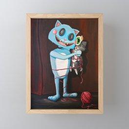 "Alex the Cat ""Showtime"" Framed Mini Art Print"