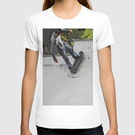 Up the Ramp  - Skateboarder T-shirt