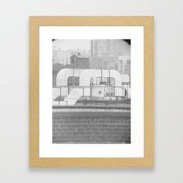duct Framed Art Print