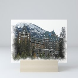 Rocky Mountain Living - Banff Resort Mini Art Print
