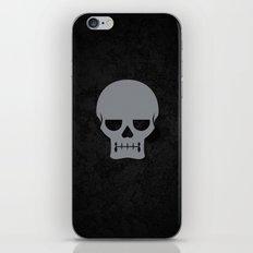 Gray Skull iPhone & iPod Skin