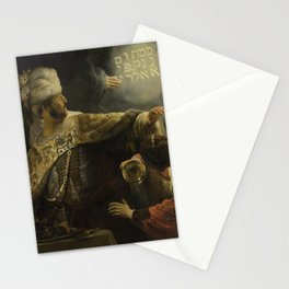 Belshazzar's Feast Stationery Cards
