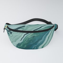 Blue Planet Marble Fanny Pack