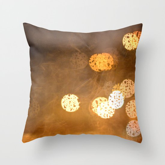 Lost In The Periphery Throw Pillow