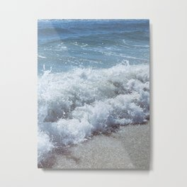 Double Wave Metal Print