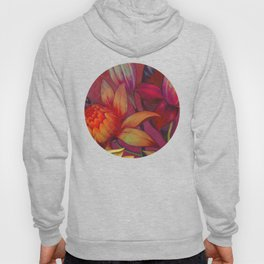 """""""Retro Giant Floral Pattern"""" Hoody"""