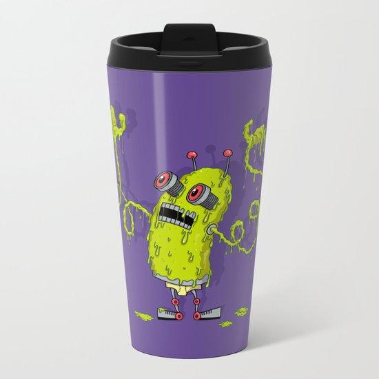 Snot Bot Metal Travel Mug