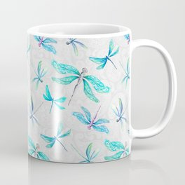 Dragonflies on Paisley Coffee Mug