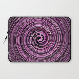 Pink and Black waves Laptop Sleeve