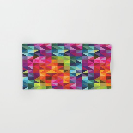 Geometric World No. 2 Hand & Bath Towel