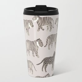 Gray Tigers Travel Mug