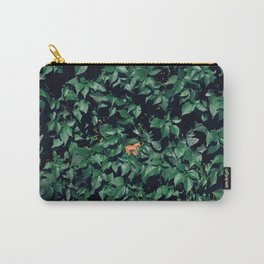 Orange horse in the bush Carry-All Pouch
