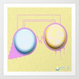 No. 2 (Dual) Art Print
