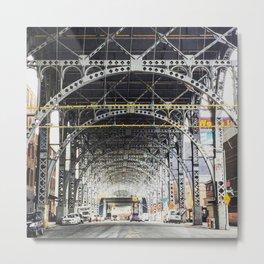 Riverside Drive Viaduct - New York City Metal Print