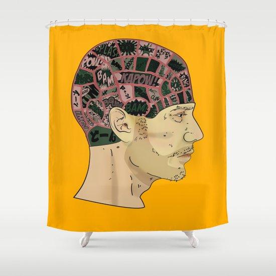 PHRENOLOGY Shower Curtain