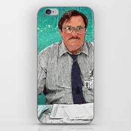 Milton - Office Space iPhone Skin