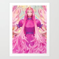 artgerm Art Prints featuring PB by Artgerm™