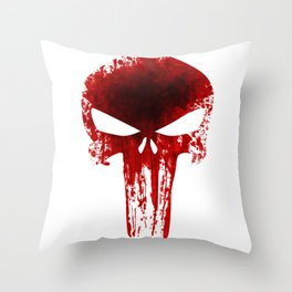 The punisher Throw Pillow