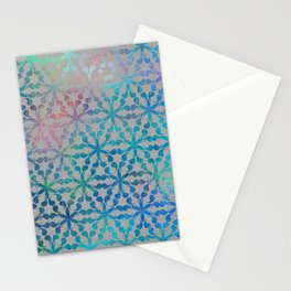 Flower of Life Variation - pattern 3 Stationery Cards