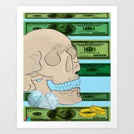 Money Matrimony Art Print
