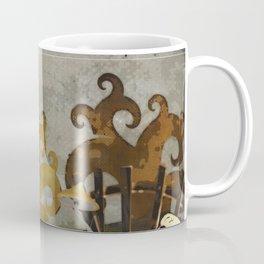 The Spookz Whimsical Folk Art Coffee Mug