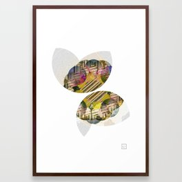 Shaped Cups Framed Art Print