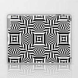 Op art trippy pattern Laptop & iPad Skin
