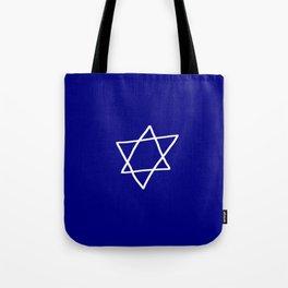 Star of David 17- Jerusalem -יְרוּשָׁלַיִם,israel,hebrew,judaism,jew,david,magen david Tote Bag