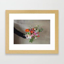 Flower Design 5  Framed Art Print