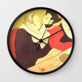 """Henri de Toulouse-Lautrec """"Reine de Joie"""" Wall Clock"""