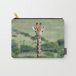 Giraffe Standing tall Carry-All Pouch