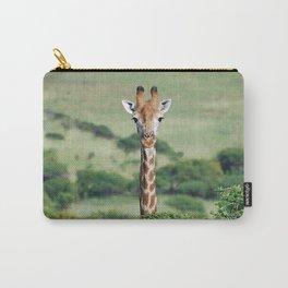 Giraffe Standing tall Carry-All Pouch