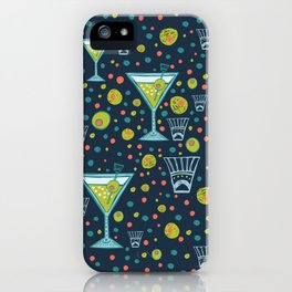 Martini Party iPhone Case