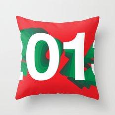 2013 Throw Pillow