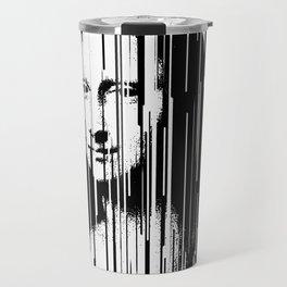 Mona Lisa Barcode Huge Limited Print 2017 Travel Mug