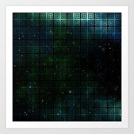 The Universe Squared Art Print