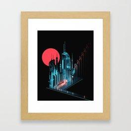 Sun City Framed Art Print