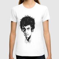 bob dylan T-shirts featuring Bob Dylan by Giorgia Ruggeri