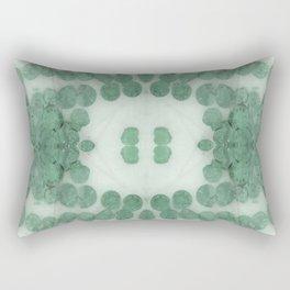 Sea Shell Disco Teal Rectangular Pillow