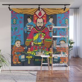 Pear God Wall Mural