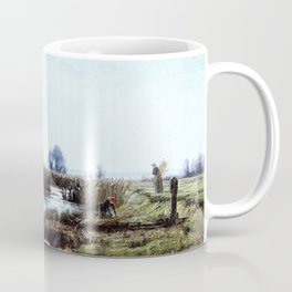 Late Afternoon, Dacha Moor - Theodore Clement Steele Coffee Mug