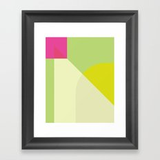 Cacho Shapes XCVI Framed Art Print