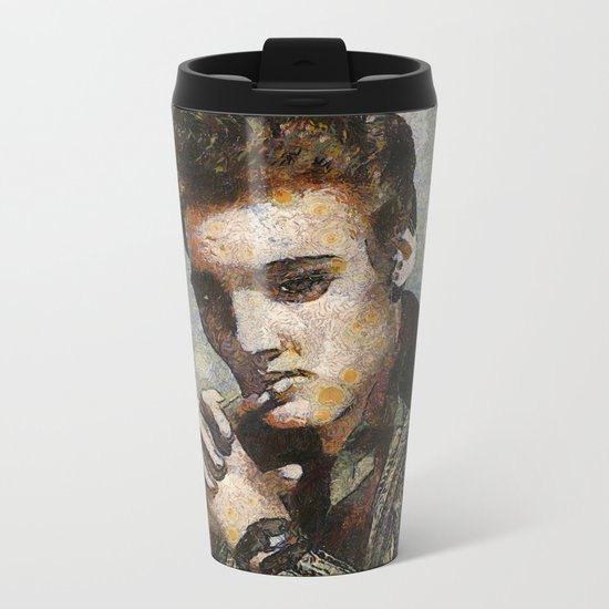 Elvis Metal Travel Mug