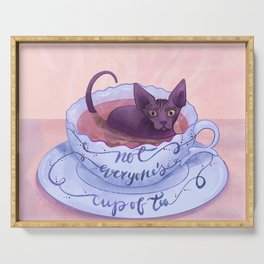 Not Everone's Cup Of Tea - Sphynx Cat - Part 2 Serving Tray