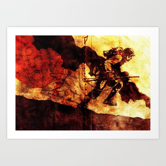 WHF Goes To War Art Print
