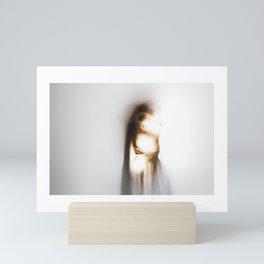shedding light Mini Art Print
