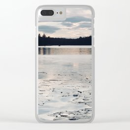 Kettle Pond Clear iPhone Case