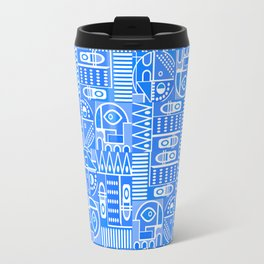 GeoPrint Pattern Travel Mug